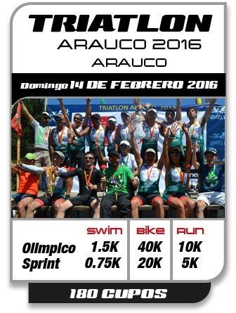 6c87595565bc1 Una buena forma de celebrar el día de los enamorados será compitiendo en el  próximo triatlón de Arauco